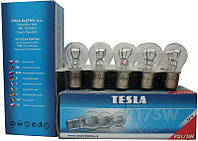 Лампа автомобильная Tesla BA15s, 12v21w