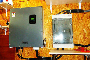 Шкаф защиты ETI (Словения) для солнечной электростанции.