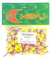 Поплавок зимний Mildas №3, 100шт