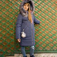 Куртка зимняя с вшитым капюшоном, фото 1