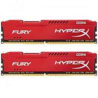 Модуль памяти для компьютера DDR4 32GB (2x16GB) 2400 MHz HyperX Fury RED Kingston (HX424C15FRK2/32), фото 1