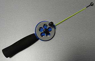 Зимняя удочка синяя Flagman d = 55мм Ручка EVA Pole 15см