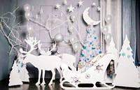 Новогодний декор, объемные фигуры, надписи для дома, фотозон, офисных помещений, витрин