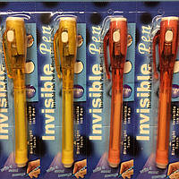 Ручка -шпион NEW Ручка фонарик для досок рисуй светом