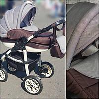 """Детская коляска универсальная 2 в 1 """"Baby Marlen"""". Легкая алюминиевая рама., фото 1"""