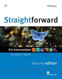 Straightforward Second Edition Pre-Intermediate Student's Book ISBN: 9780230414006, фото 2