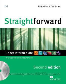 Straightforward Second Edition Upper Intermediate Workbook + CD with Key ISBN: 9780230423350, фото 2