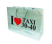 Бумажные пакеты с логотипом, фирменные пакеты
