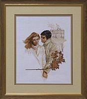 Набор для вышивки нитками на канве Серенада осени КИТ 20310