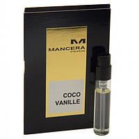 Mancera Coco Vanille - Парфюмированная вода 2ml (пробник) (Оригинал)