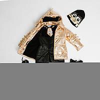 Dino's Band - Зимний костюм Gold Dino, размер 3-4 года