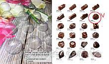 Пластиковая форма для шоколадных конфет №1