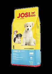 Сухой корм для щенков и молодых собак. JOSIDOG Junior 18 кг