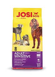 JosiDog Adult Sensitivе. Полноценный корм для собок с чувствительным пищеварением. 18 кг