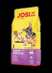 Сухой корм для щенков с чувствительным пищеварением JOSIDOG JUNIOR SENSITIVE, 18 кг