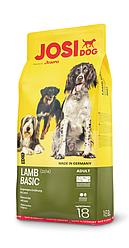 Сухой корм для собак с ягнёнком  JOSIDOG LAMB BASIC, 18 кг