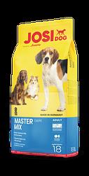 Сухой корм для собак всех пород JOSIDOG MASTER MIX,18 кг