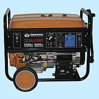 Генератор бензиновый DAEWOO GDA 6500E (5.0 кВт)