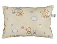 Подушка детская силиконовая, 7010101 (бязь, хлопок 100%)