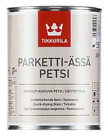 TIKKURILA Parketti Assa Petsi Полуматовый лак для паркетных и дощатых полов внутри зданий 5 л