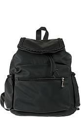 Рюкзак женский элегантный, с декором 264V001 (Черный)