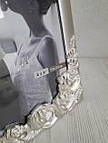 Весільна фоторамка з металу 10х15 см, фото 3