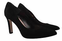 Туфли Bravo Moda натуральная замша, цвет черный