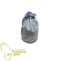 Косметичка махровая большая с вышивкой