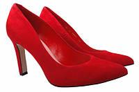 Туфли Bravo Moda натуральная замша, цвет красный