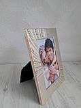Фоторамка для закоханих з металу 10х15 см, фото 2