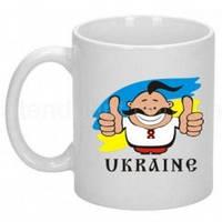 Кружка UKRAINE  Код-100605