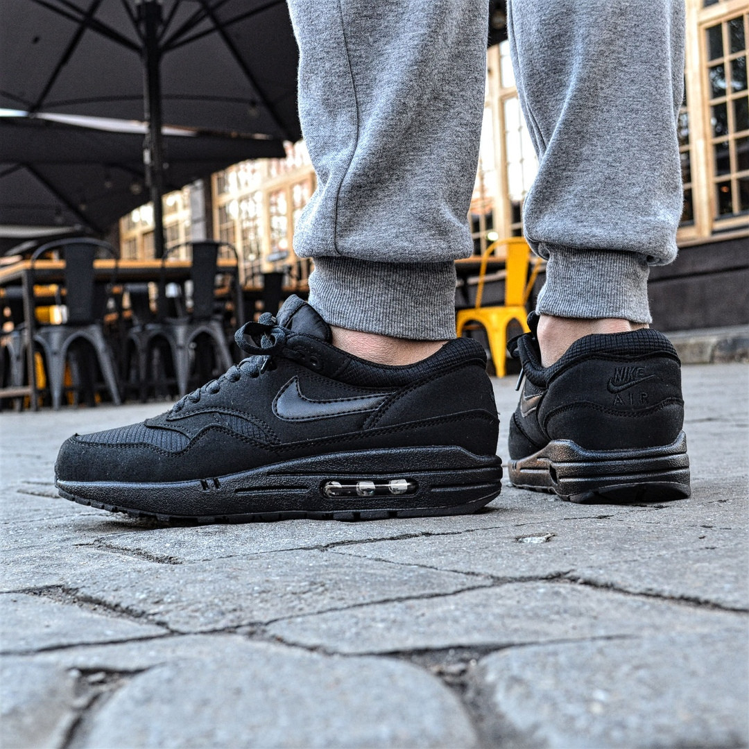 798ca657 Мужские кроссовки Nike Air Max 87 triple black. Живое фото. Топ качество! (