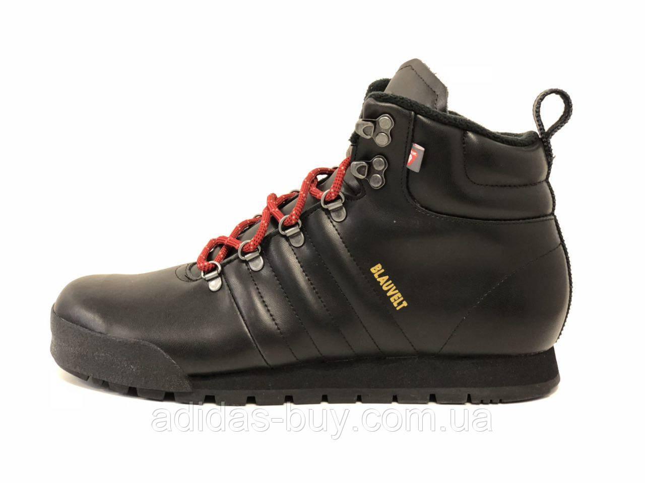 Мужские зимние оригинальные ботинки adidas JAKE BLAUVELT из кожи цвет 109c35491d433