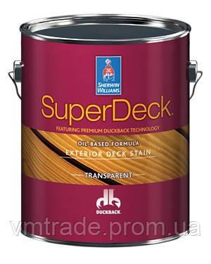 Пропитка для дерева на масляной основе, полупрозрачная, Шервин Вильямс(SuperDeck, Exterior Oil-Based) 3,54 л