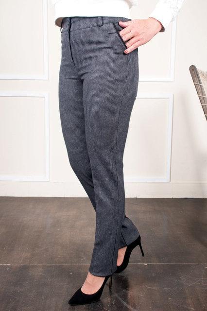 Стильные брюки с идеальной посадкой для всех типов фигур. Размеры 48, 50, 52, 54, 56, 58, 60