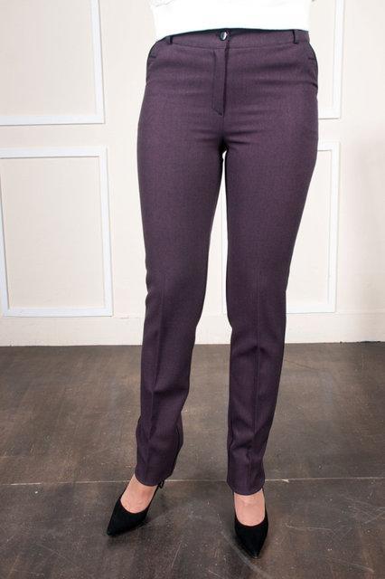 Модные брюки с идеальной посадкой для всех типов фигур. Размеры: 48, 50, 52, 54, 56, 58, 60