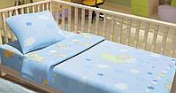 Постельное белье для новорожденный Kidsdream Медвежата на луне.