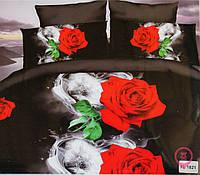 Комплект постельного белья микрофибра Florida 5D Sateen 200х220  FL 1821, фото 1