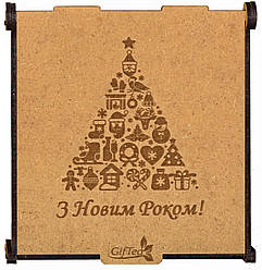 """Подарок на новый год. Подарочный набор чая """"Новорічна ялинка"""""""