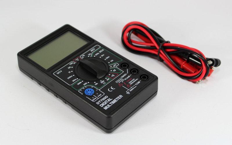 Цифровой мультиметр DT700b / тестер, фото 1