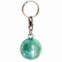 "Брелок Pastorelli Ball Glitter ""Мяч"" 00584 зеленый с блестками"