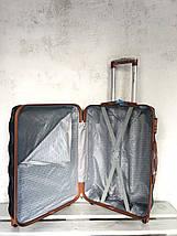 Чемодан из поликарбоната средний чемодан голубой Польша / Валіза середня з полікарбонату , фото 2