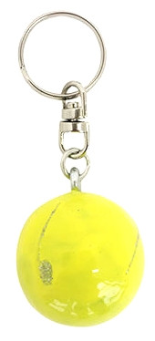 """Брелок Pastorelli Ball  """"Мяч"""" 03461 жёлтый с серебром"""