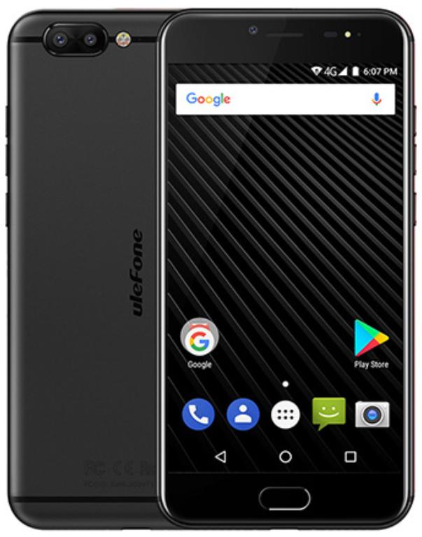 Ulefone T1 Premium 6/128 Gb black