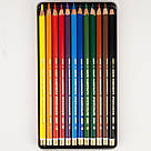 Художественные цветные карандаши POLYCOLOR, 12 цв. 3822012002PL, фото 2