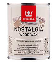 Віск для дерева TIKKURILA NOSTALGIA WOOD WAX Родзинки 0,333 л