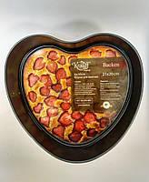 Форма для выпечки разъемная (серце) 21*20*6,5 см Krauff 26-203-063