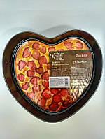 Форма для выпечки разъемная (серце) 25,5*24*6,8 см Krauff 26-203-064