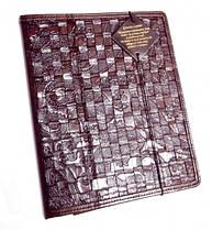 """Чехол для планшета Handmade кожаный """"Плетение"""""""