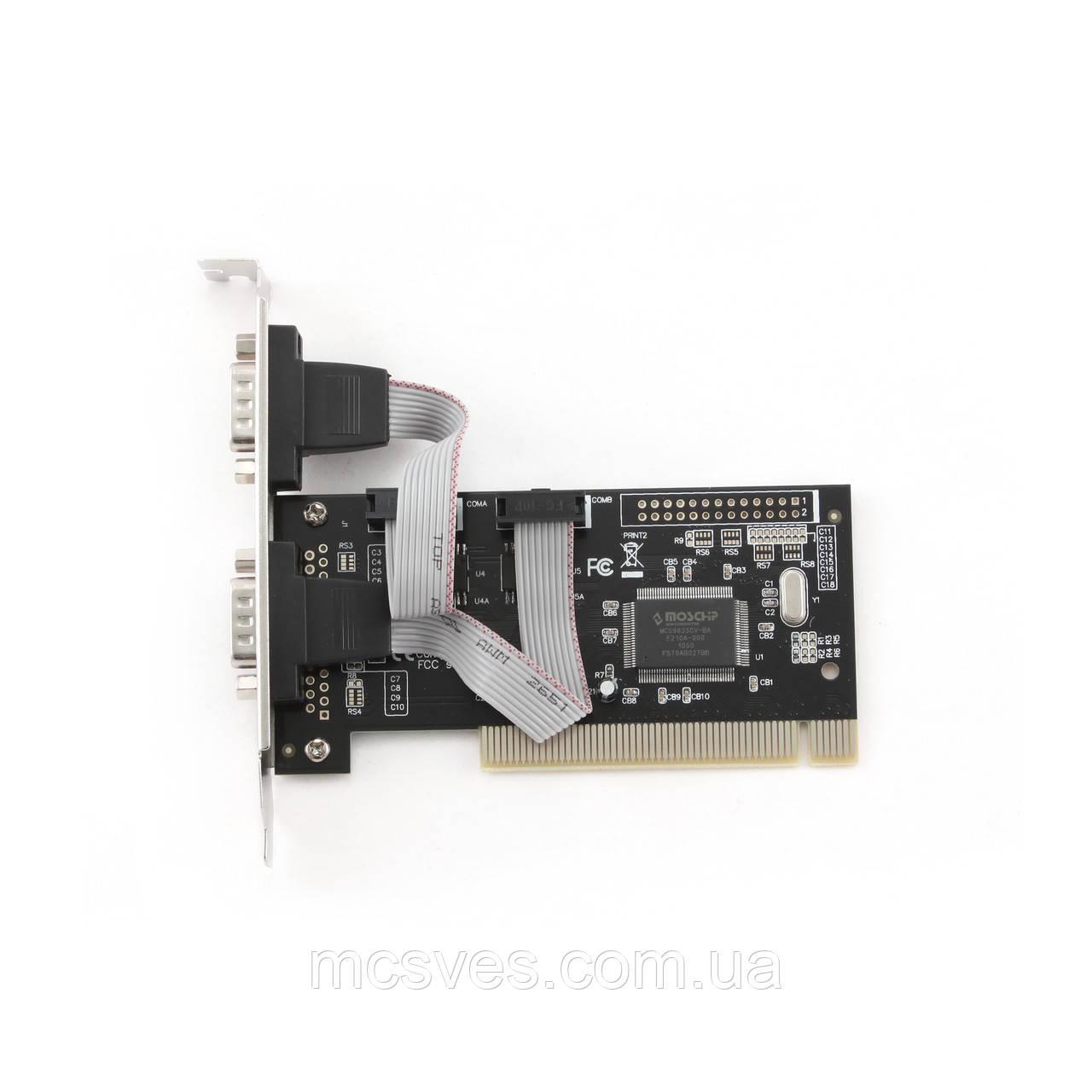 Контроллер PCI to 2 x COM  9pin RS232